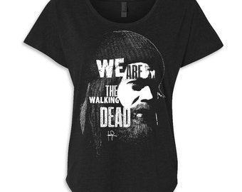 We Are the Walking Dead Jesus Dolman T-shirt- Shirt-Tee-Graphic-TWD