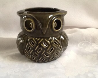 Funky Owl Tealight Holder