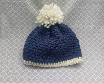 Winter beanie - pom pom hat - winter hat - warm hat - beanie