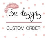 Custom order - silk table runners and hand-dyed silk ribbons