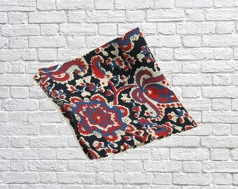 """Pocket Square, Blue - 13""""x13"""" - FREE Shipping - Cotton - Summer Time Blues"""