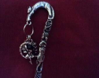 5 1/2 silvertone bookmark