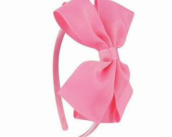 Pink simple headband
