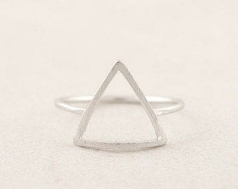 Silver 'Elements' Ring