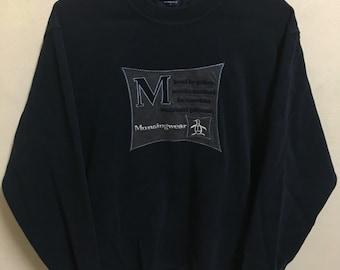 Vintage 90's MunsingWear Sport Classic Design Skate Sweatshirt Sweater Varsity Jacket Size M #A645
