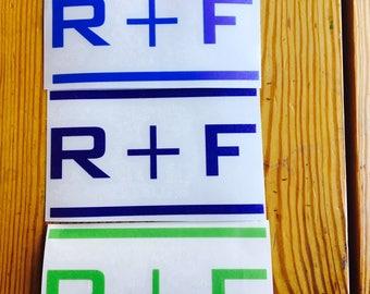 Rodan and Fields Decal - Rodan Fields Car Decal - Water Bottle Sticker