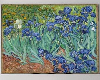 Van Gogh Print, Irises Painting, Van Gogh Irises, Giclee Print, Irises, Giclee, Fine Art Painting, Fine Art Prints, Fine Art Gallery, 192