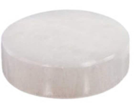 Selenite Stone Charging Disc Plate