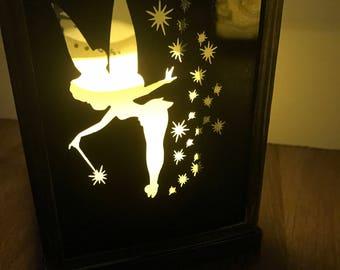 Inspired Peter Pan tinkerbell lantern