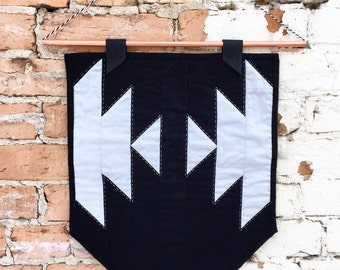 Half Squash Wall Hanging | Quilted Wall Hanging | Mini Quilt | Quilted Banner