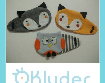 Forest Animals Eyepatches for kids (amblyopia) with a special offer: 100% off for the third piece (buy 2, get all 3)