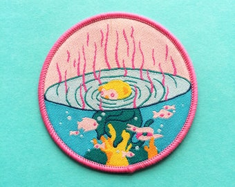 Monkey Orb Iron-on Patch