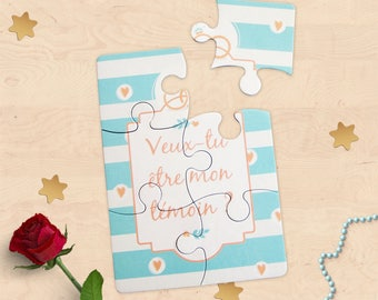 """Map puzzle requires witness for wedding """"Will you be my best man?"""""""