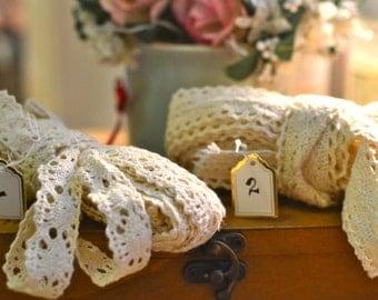 Ivory crochet trim I Vintage lace trim I Crochet lace trim I Lace trim I Crochet I Ivory Crochet I Crochet trim I Crochet I Border trim