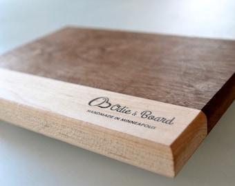 Walnut & Maple Cheese Cutting Board