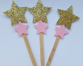 Twinkle Twinkle Cupcake Toppers