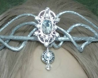 "Elven-Headpiece-Crown-Tiara-Fairy-Renaissance-"" Elora"""