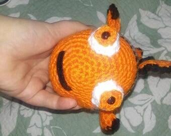 Crochet 'Nemo' amigurumi stuffed animal