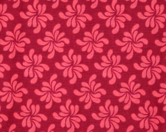 FLORAL PINWHEELS 100% Cotton Fabric
