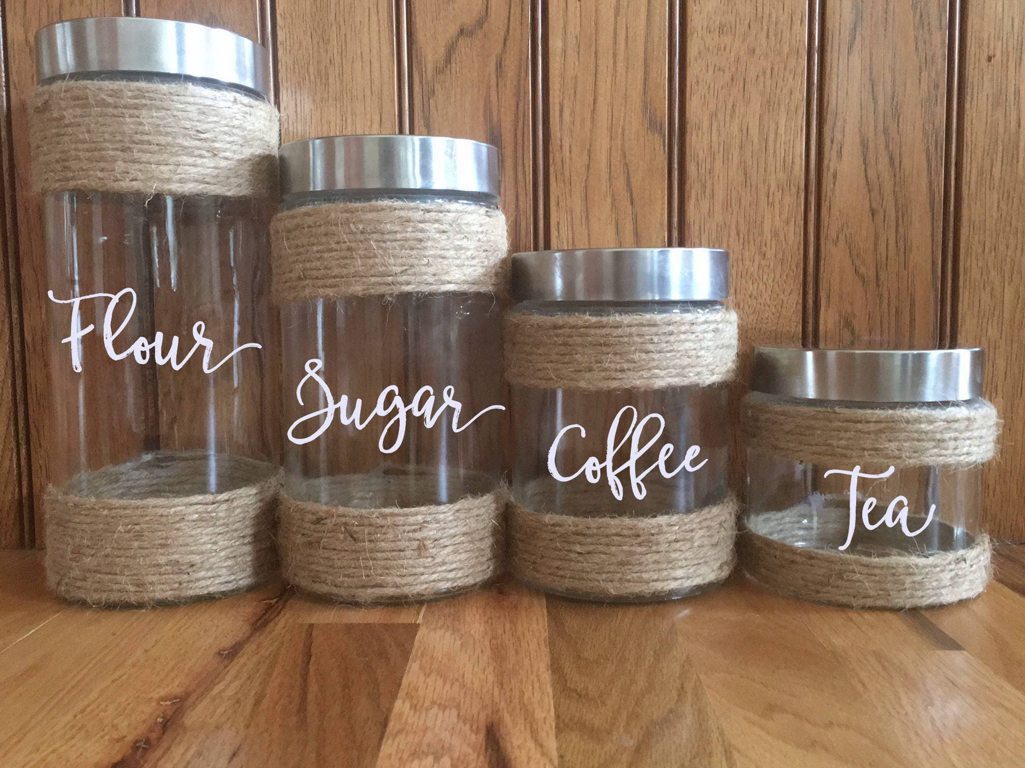 Farmhouse Kitchen Canisters Kitchen Canisters Rustic