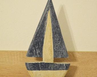 Wooden ship / Nautical decoration / nautical baby shower / nautical decor / beach decor