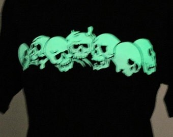 Glow in the Dark Skulls Tee