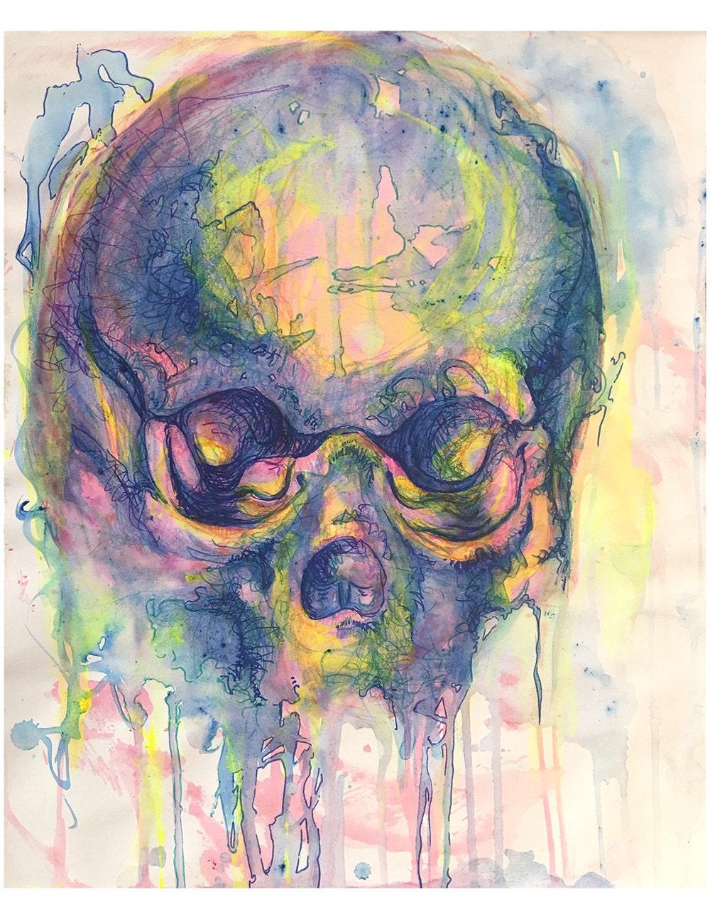 Pastel Skull