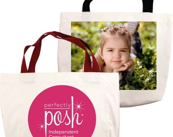 Tote Bags - Personalized with your photo or business logo.