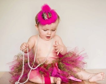 Pink Camo Tutu Skirt Only - Great tutu for photography props and birthdays