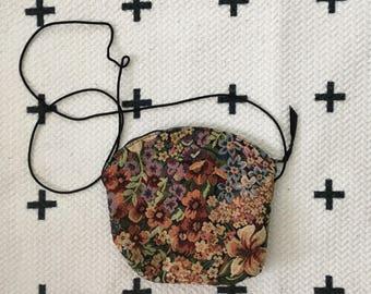 Floral cross-body or shoulder bag
