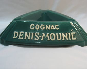 "Advertising ashtray ""Cognac DENIS MOUNIE"""