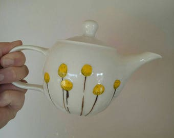 Billy Button Teapot
