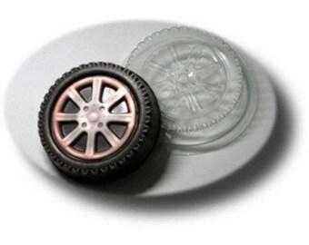 Wheel - plastic soap mold soap making soap mould molds soap mold