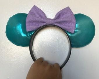 Little Mermaid Inspired Disney Ears