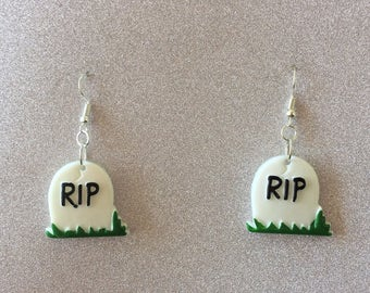 Gravestone Earrings
