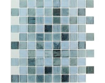 Mosaic sticker 25 x 25 cm - Stickers mosaic - tile adhesive - tile sticker - Friesland sticker