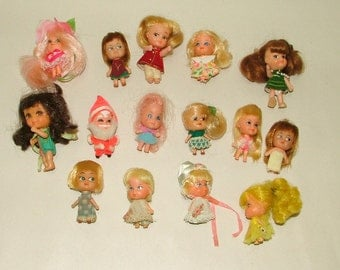 Liddle Kiddles Doll Lot Rares Included******1960's******** HQ Great Condition