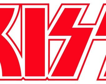 Kiss Decal