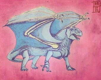 Dimetrodon Dragon 2