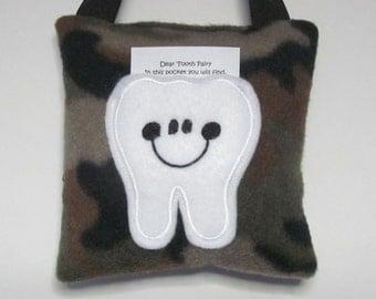 Tooth Fairy Pillow Camo Ready to Ship