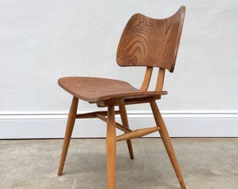 SOLD Rare 1950s Ercol Butterfly Chair. Mid Century Ply chair. SOLD