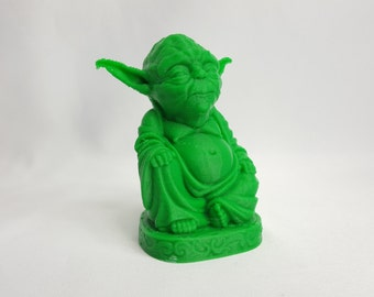 Yoda Buddha - Star Wars Inspired