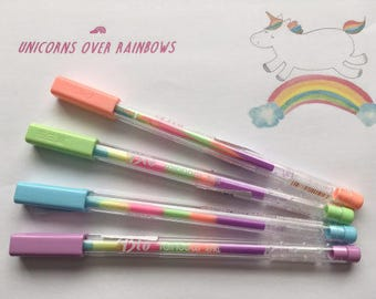 stylo plume licorne