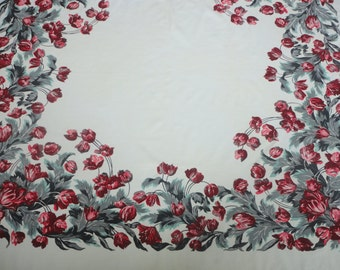 Vintage Tablecloth 54X48