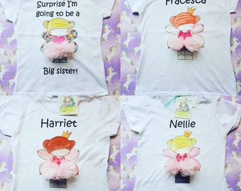 Personalised fairy t shirt
