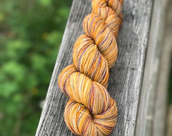 Luxury MCN Sock Yarn - 'Mardi Gras' in Lillian's Luxery Sock