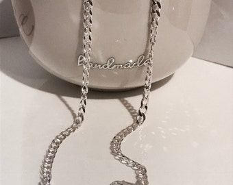 Sterling Silver Curb Chain/Solid Silver