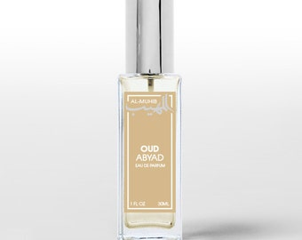 Oud Abyad - Spray perfume Eau de Parfum - Oriental fragrance for men