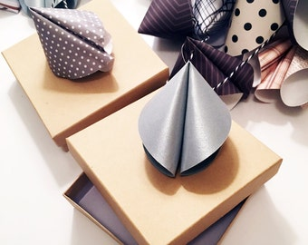 50 Fortune Cookie Favor Boxes