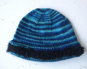 Beanie cap for a boy 6-12 months old